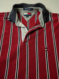 Vintage Tommy Hilfiger Pinstripe Polo shirt - 528co