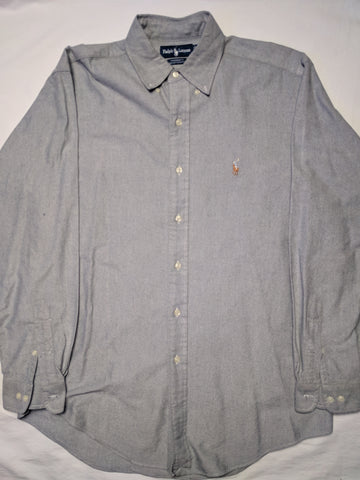 Polo Ralph Lauren long sleeve button up Shirt M - 528co