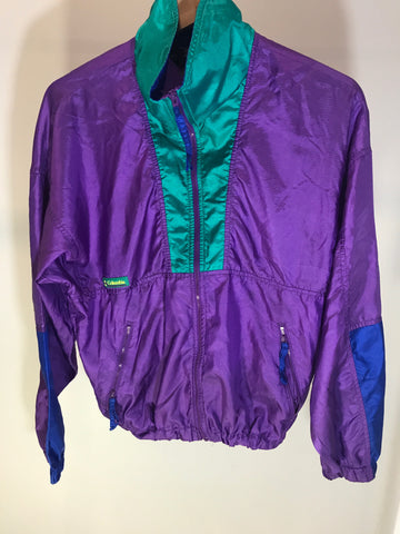Vintage Columbia zip up Windbreaker size Women's M
