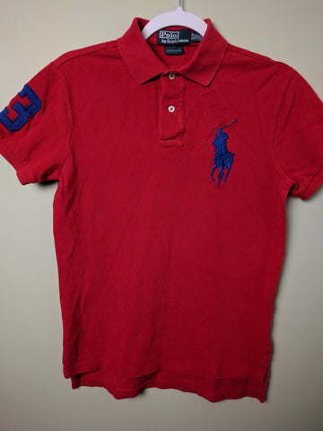 Ralph Lauren Polo Red Shirt Size Small - 528co