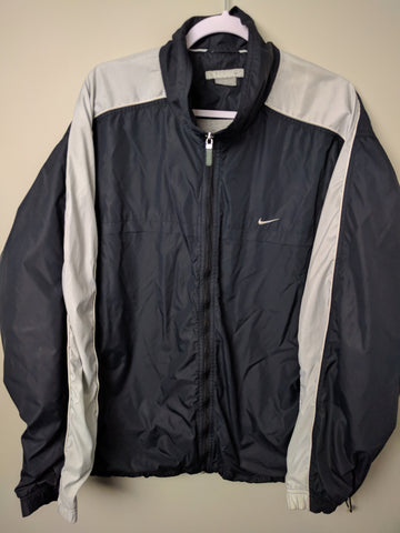 Vintage Nike Black/Grey Light Jacket XXL