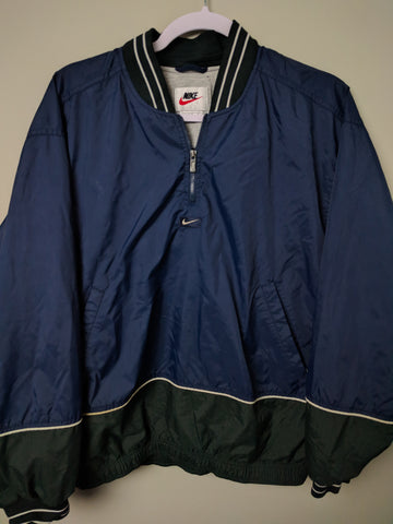Vintage Nike Half zip pullover Jacket Kids L - 528co