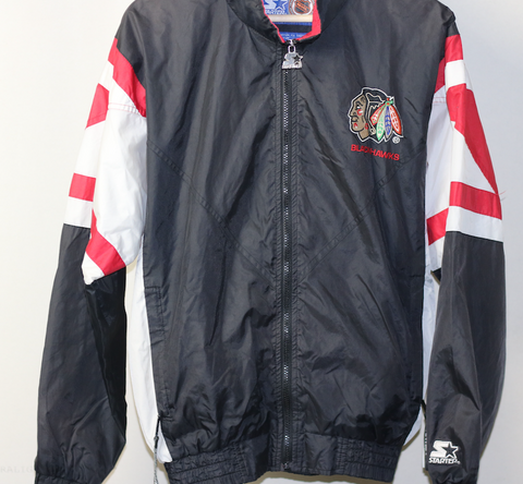 Chicago Blackhawks Starter Windbreaker