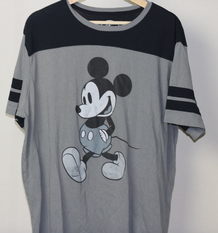 Vintage Grey Mickey Mouse T-shirt