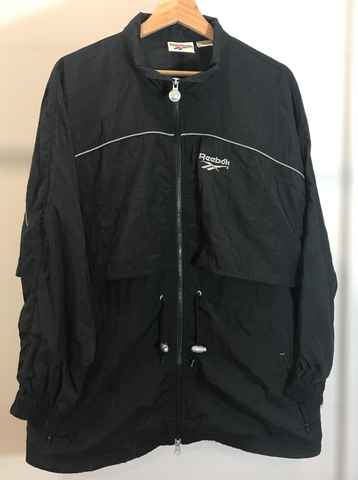 Vintage Reebok Black Light Jacket