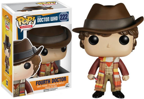DOCTOR WHO 4TH DOCTOR FUNKO POP! VINYL