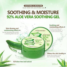 Charger l'image dans la galerie, Nature Republic Soothing & Moisture Aloe Vera 92% Soothing Gel 300ml