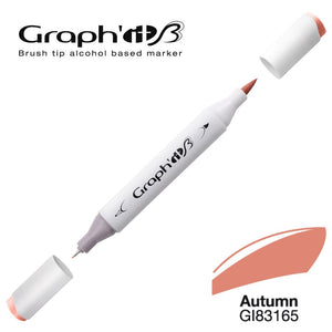 GRAPH'IT Marqueur Brush 3165 - Autumn