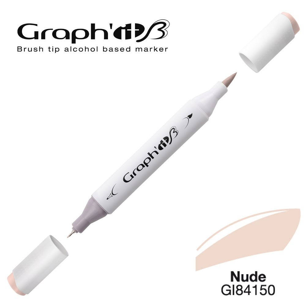 MARQUEUR BRUSH ALCOOL GRAPH'IT- NUDE 4150