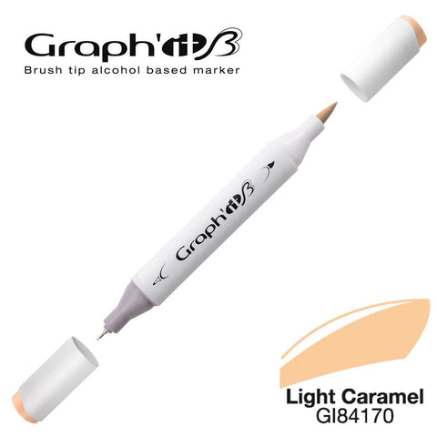 GRAPH'IT Marqueur Brush 4170 - Light Caramel