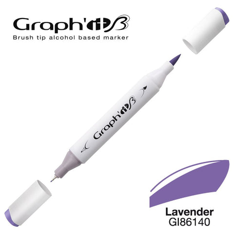 GRAPH'IT Marqueur Brush 6140 - Lavender