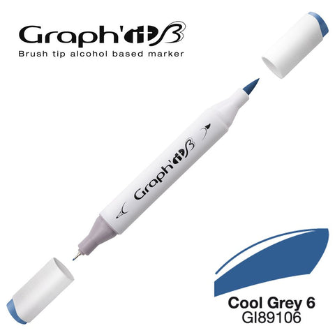 GRAPH'IT Marqueur Brush 9106 - Cool Grey 6