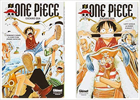 One piece pack T01 et T02