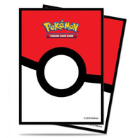 Protèges Cartes Pokémon Ultra Pro - Pokéball Par 65