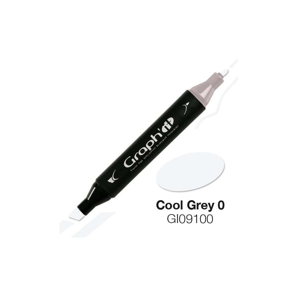 Marqueur Graph'It - Cool Grey0 9100