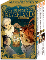 The Promised Neverland Coffret T01 à 03