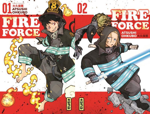 Fire force Pack T1+T2