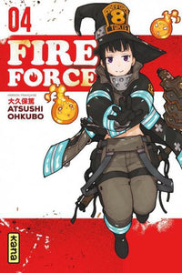 Fire force T04