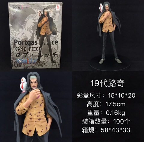 Figurine One Piece Rob Lucci