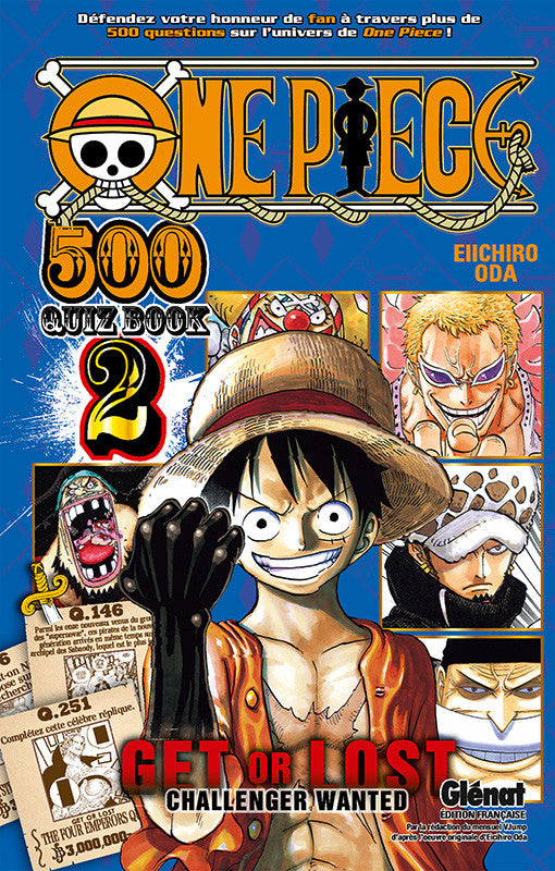 One piece - Quiz book T02