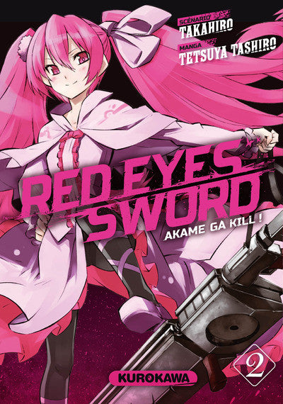 Red eyes sword - Akame ga Kill ! T02