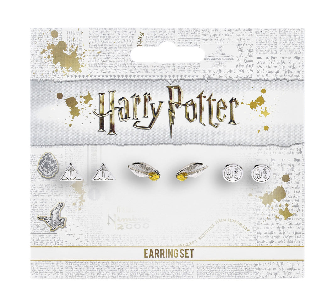 Set Boucles d'oreilles Harry Potter