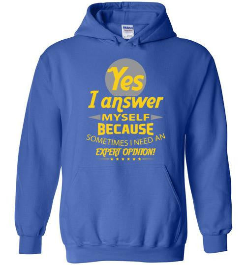 Answer Myself Pullover Hoodie
