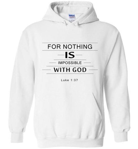 Nothing Impossible Pullover Hoodie