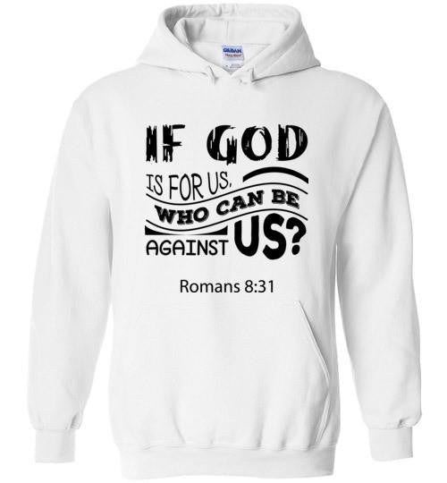 God is For Us Pullover Hoodie