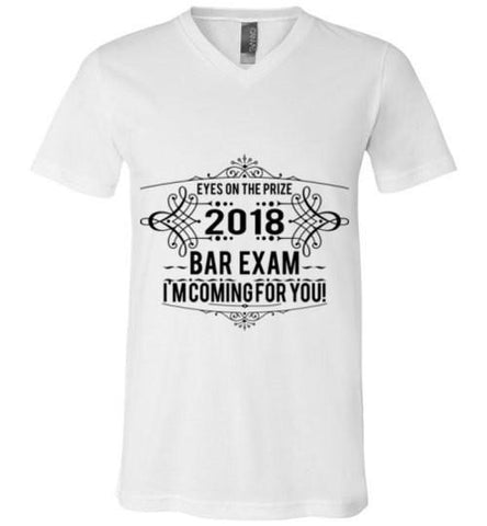 2018 Bar Exam V-Neck Tee