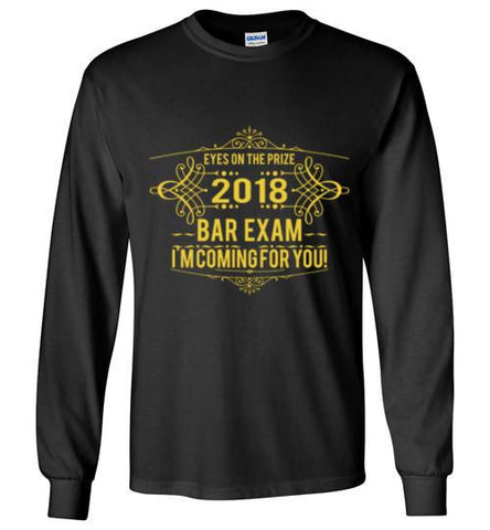 2018 Bar Exam Long Sleeve Tee