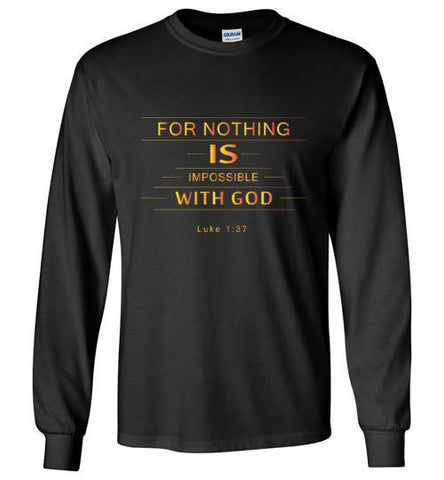 Nothing Impossible Long Sleeve Tee