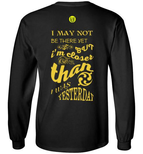 Closer Than Yesterday Kids Long Sleeve Tee