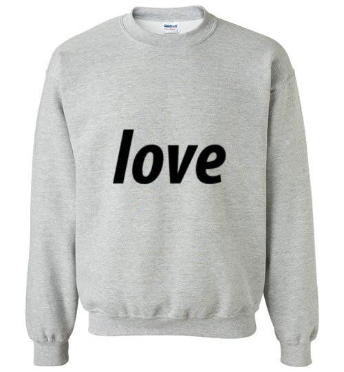 Believe in Love Kids Sweatshirt