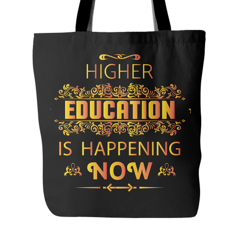 Higher Education Tote Bags