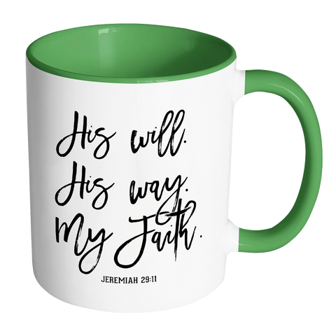His Will His Way Coffee Mug