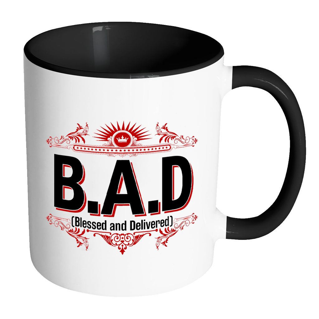 Blessed & Delivered Accent Coffee Mug