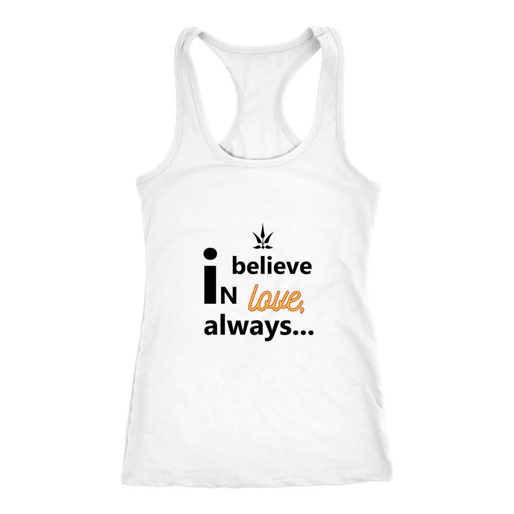 Believe in Love Racerback Tank