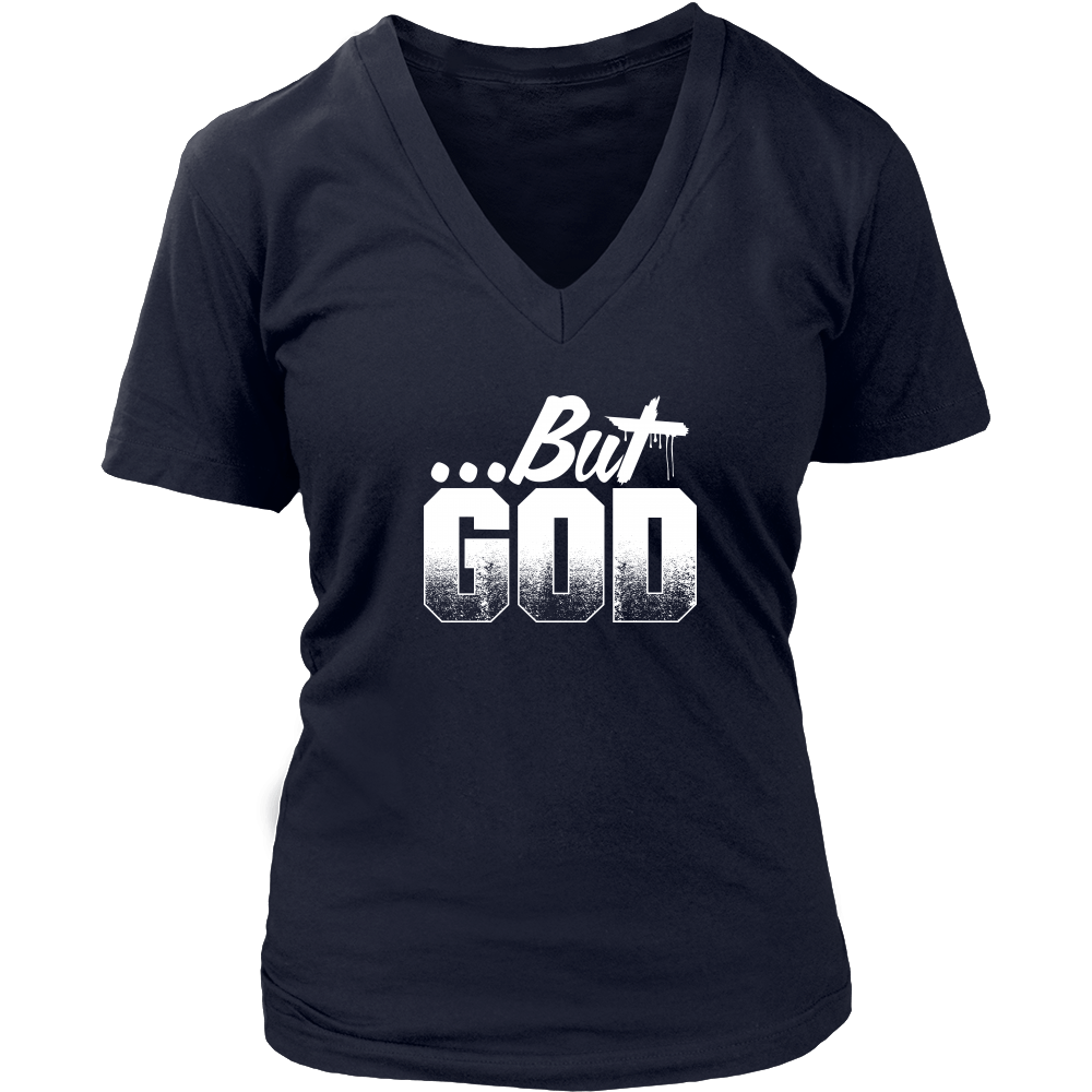 But God V-Neck Tee