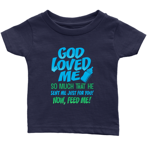 Cool Navy Blue Baby Tees