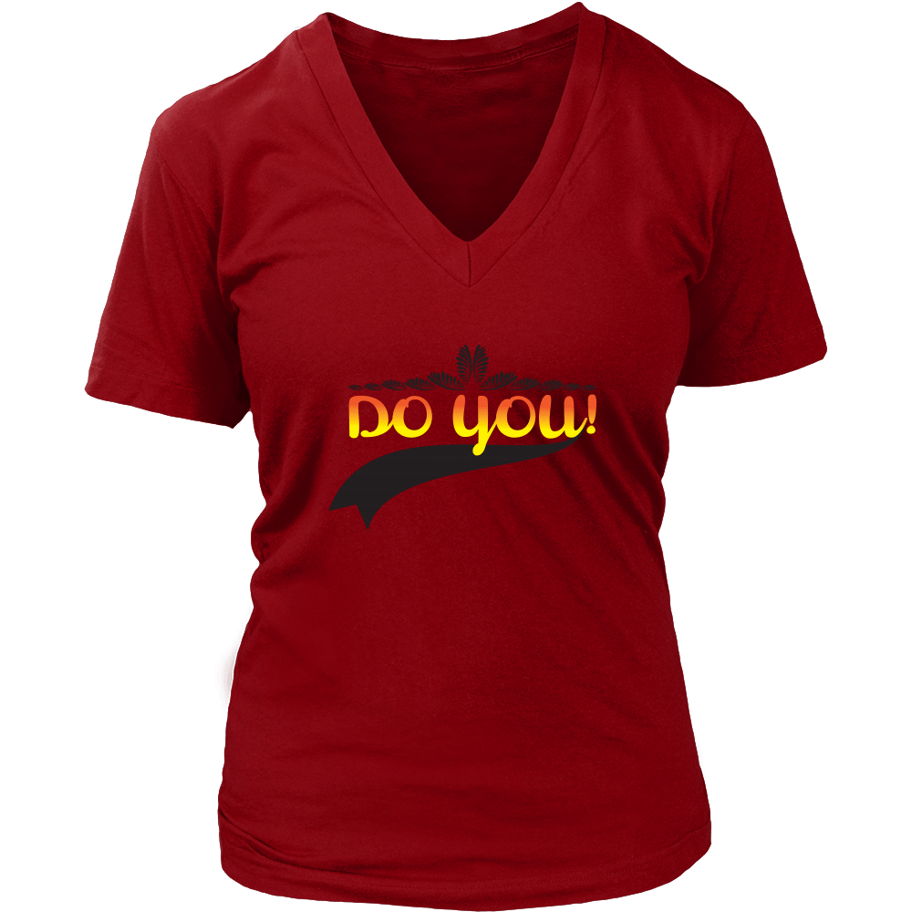 Do You V-Neck Tee