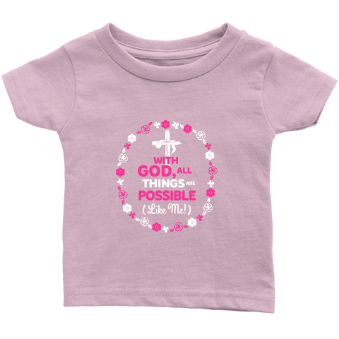 Light Pink Color Baby Tee