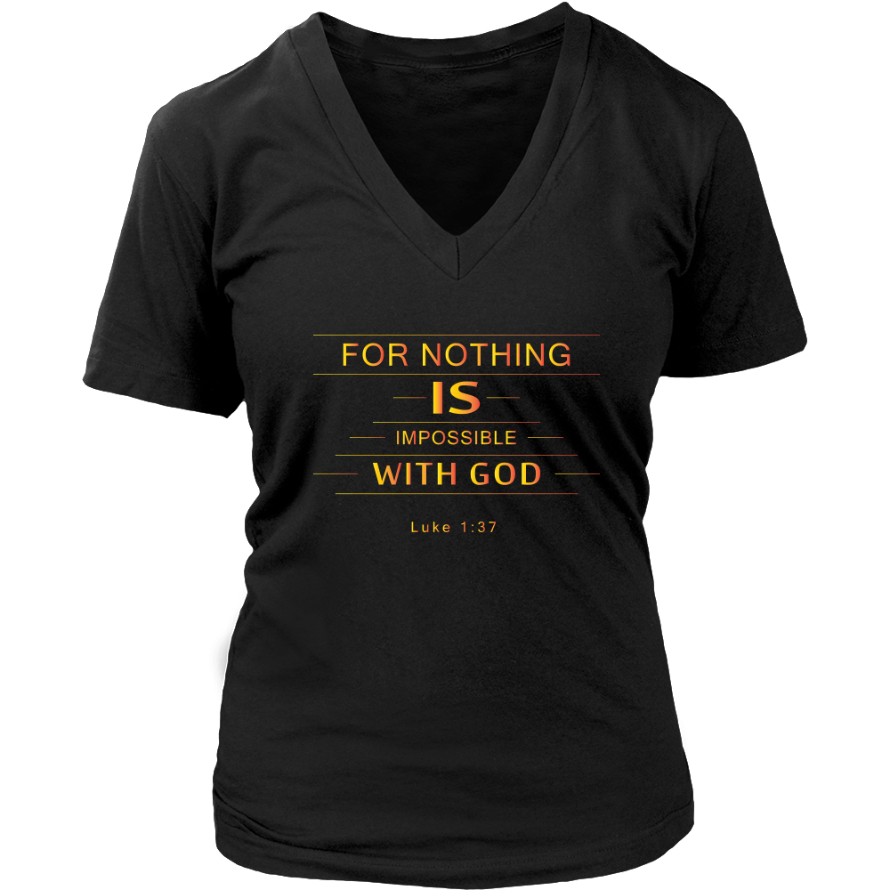 Nothing Impossible V-Neck Tee