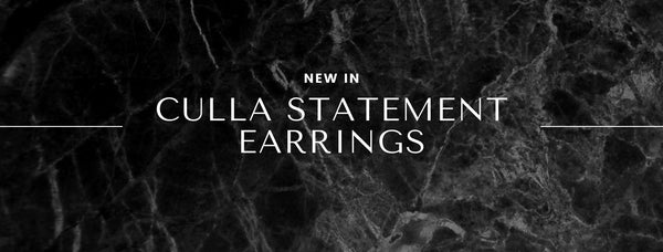 The Latest in Culla: Culla Drop Statement Earrings