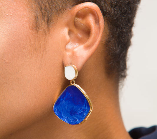 Fearless Statement Drop Earrings