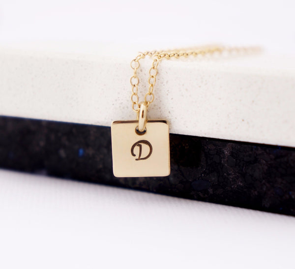 zivanora jewelry essence custom square pendant necklace