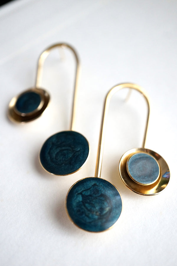 Culla Statement Drop Earrings