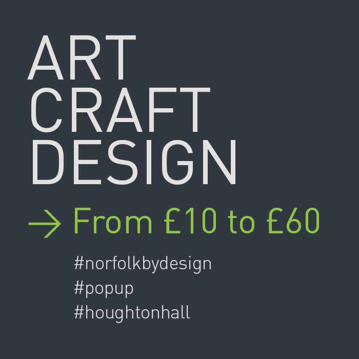 PICK UP SOME GREAT, AFFORDABLE AND THE HAND MADE FROM HOUGHTON HALL