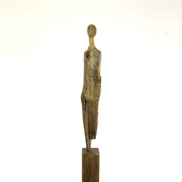 Alde Sentinel, sculpture by Suffolk based artist Roger Hardy