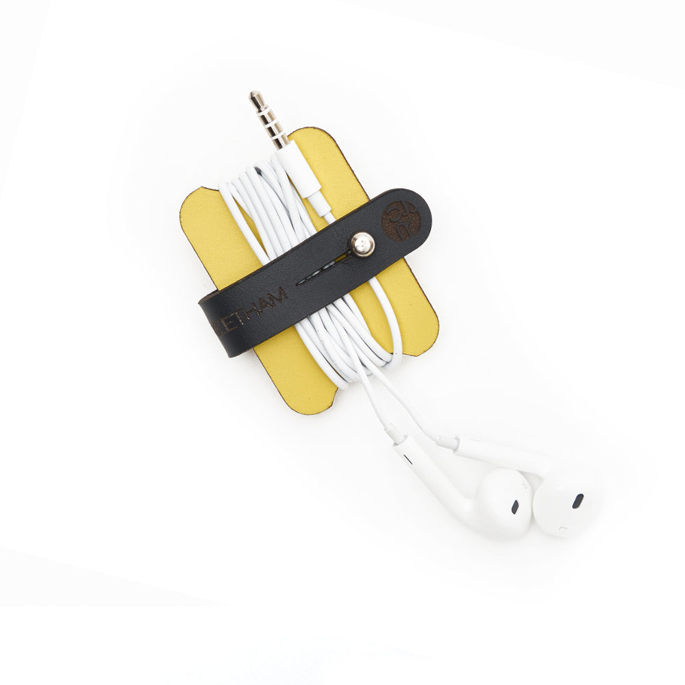 Cable Tidy - Yellow